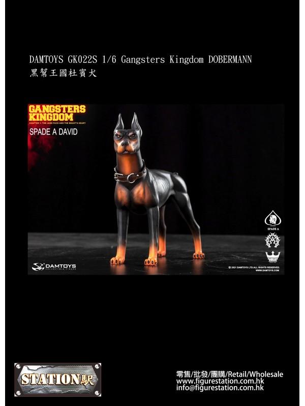 DAMTOYS GK022S 1/6 Gangsters Kingdom DOBERMANN (Pr...