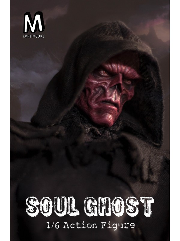 Re-order: Mini Figure MIN-001 1/6 Soul Ghost (Pre-order HKD$718 )
