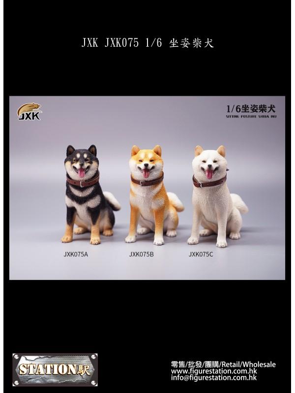 (PRE-ORDER) JXK JXK075 1/6 Sitting Posture hiba Inu (Pre-order HKD$ 198)