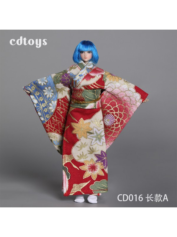 CDToys CD016 1/12 Female Kimono (4 short styles / 4 long styles)