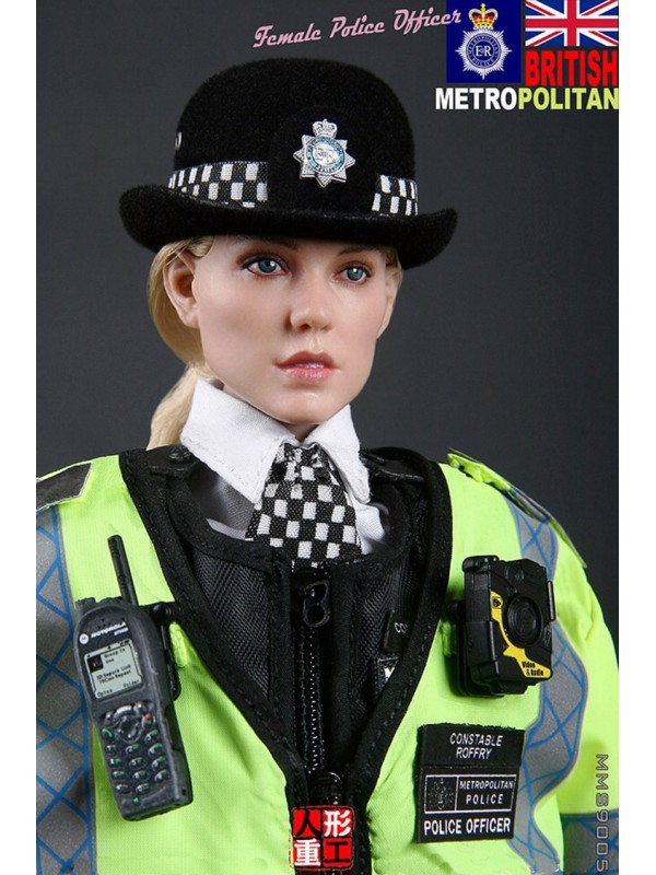 (Sold out)MODELING TOYS  MMS9005 1/6 BRITISH METROPOLITAN POLICE SERVICE (MPS) FAMALE POLICE OFFICER