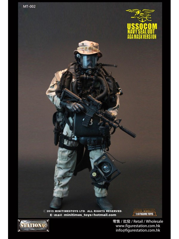 Mini Times Toys 1/6 MT-002 USSOCOM Navy Seal UDT A...
