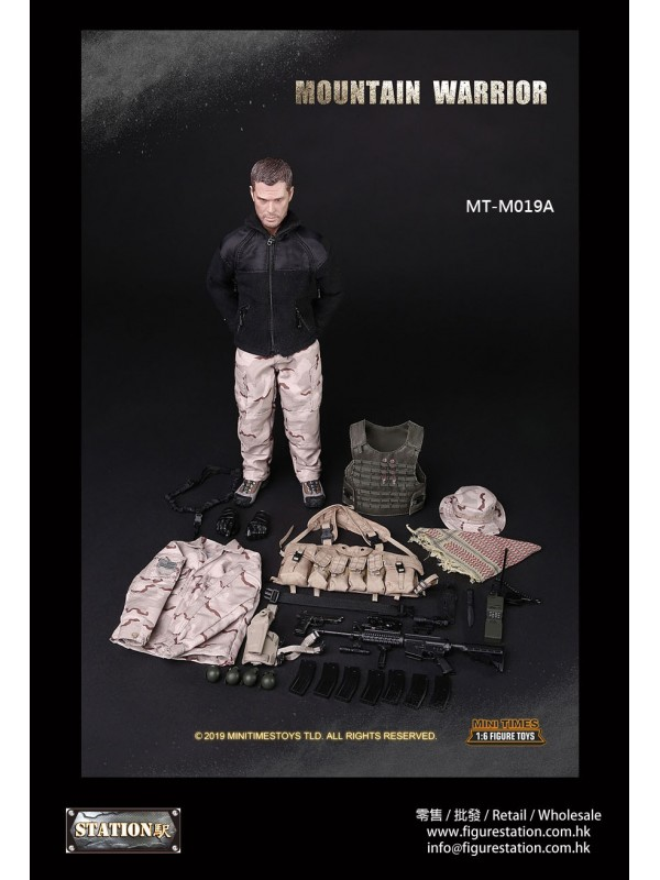 MINI TIMES MT-M019A 1/6 Mountain Warrior (Without harnes )