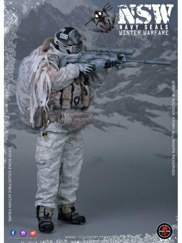 """SoldierStory SS109 1/6 NSW WINTER WARFARE """"MARKSMAN"""" (HKD$1098)"""
