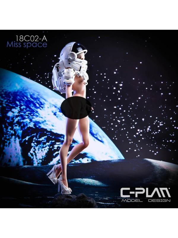 C-PLAN 18C02 GK original space girl helmet detachable can replace headsculpt static statue GK Space Girl MISS Space