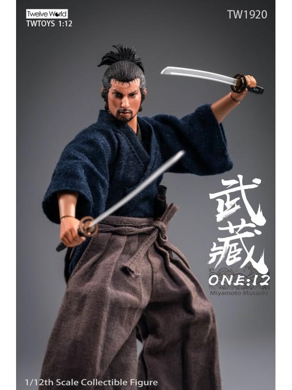 TWTOYS TW1920 1/12 Miyamoto Musashi