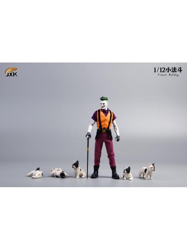 JXK JXK058 1/12 Mini French Bulldog  (Pre-order HKD$178 )