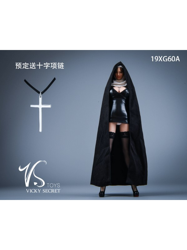 VSTOYS 19XG60 1/6 Church Girl Nun Set Kit
