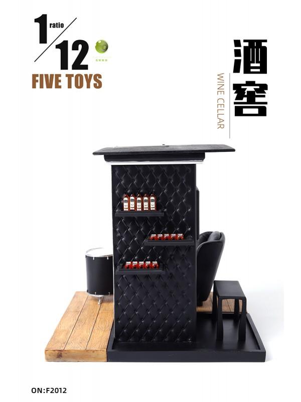 FIVETOYS F2012 1/12 The wine cellar (Pre-order HKD$428 )