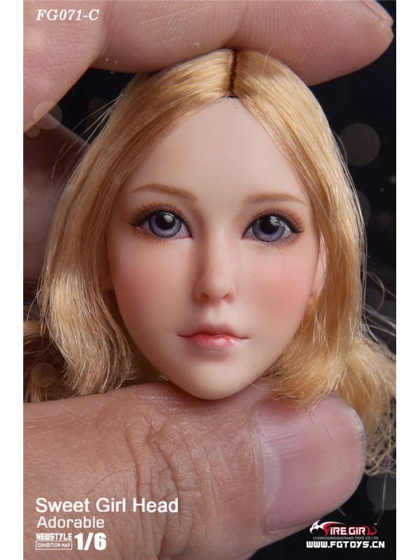 Fire Girl Toys 1/6 FG071 Sweet girl headsculpt