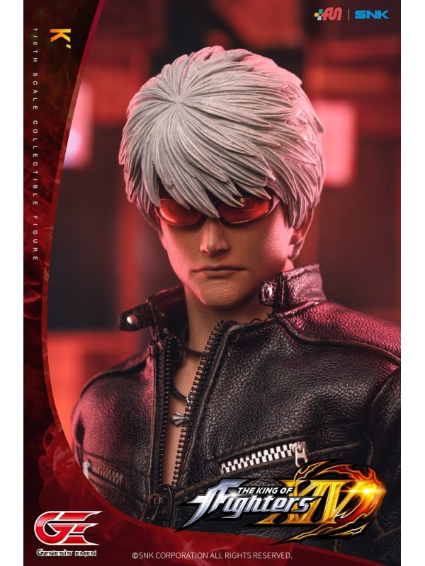 "GENESIS EMEN KOF-K01 1/6 The King Of Fighters XIV ""K"""
