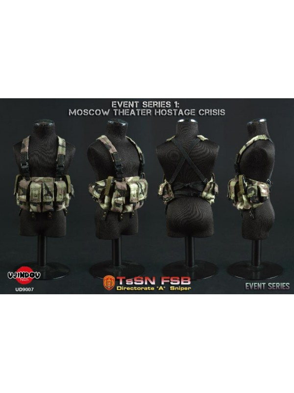 """UJINDOU UD9007 1/6 Event Series 1: MOSCOW Theater Hostage Crisis TSSN FSB Directorate """"A"""" Sniper  (Pre-order HKD$968 )"""