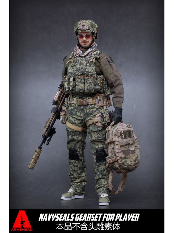 ARMSHEADES 1/6 AES001 AOR2 Seal Player Add-on Set