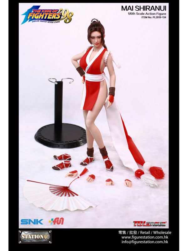 (Sold Out)TBLeague 1/6 KOF98 - MAI SHIRANUI Action...
