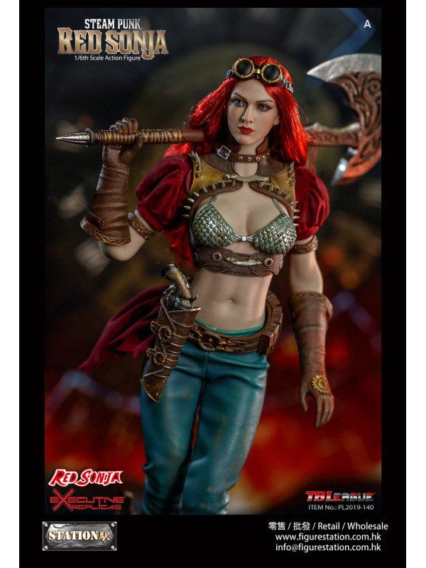 TBLeague PL2019-140-A 1/6 Steam Punk Red Sonja (no...