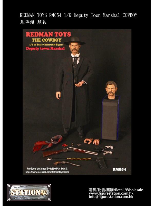 REDMAN TOYS RM054 1/6 Deputy Town Marshal COWBOY (...