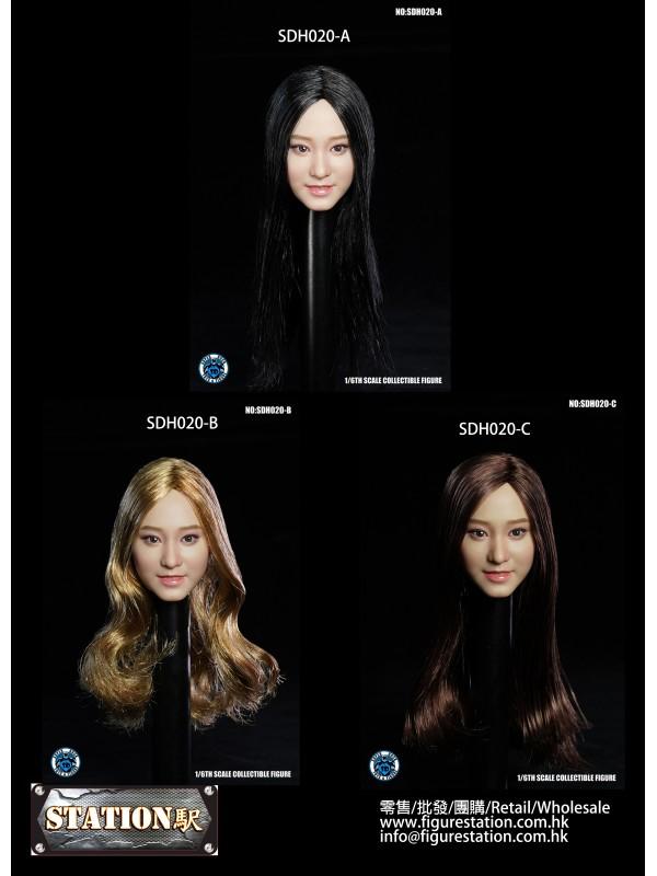 SUPER DUCK SDH020 1/6 Female Headscuplt (HKD$238)