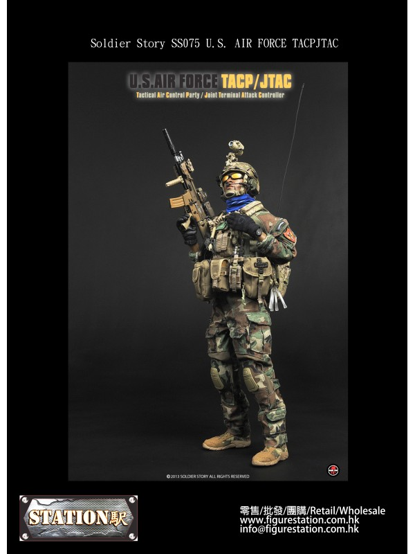 Soldier Story 1/6 SS075 U.S. AIR FORCE TACPJTAC (H...