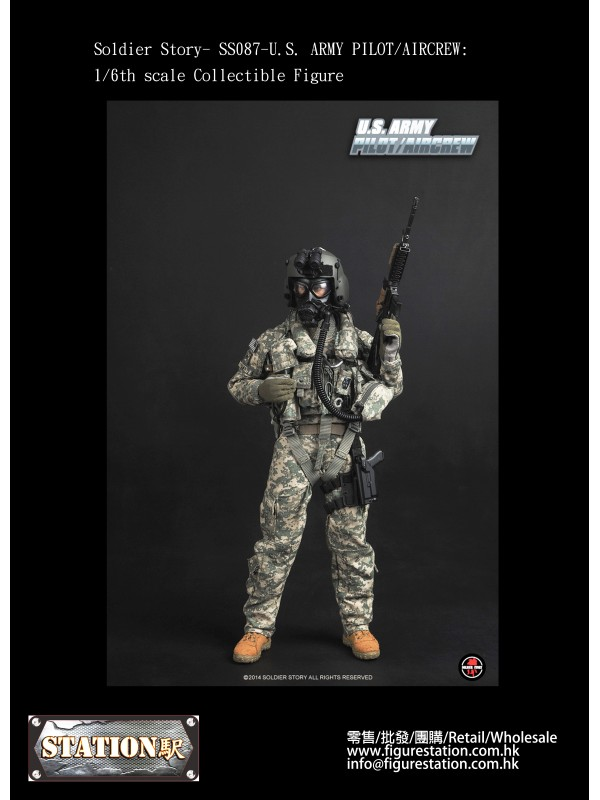 Soldier Story- SS087-U.S. ARMY PILOT/AIRCREW: 1/6t...