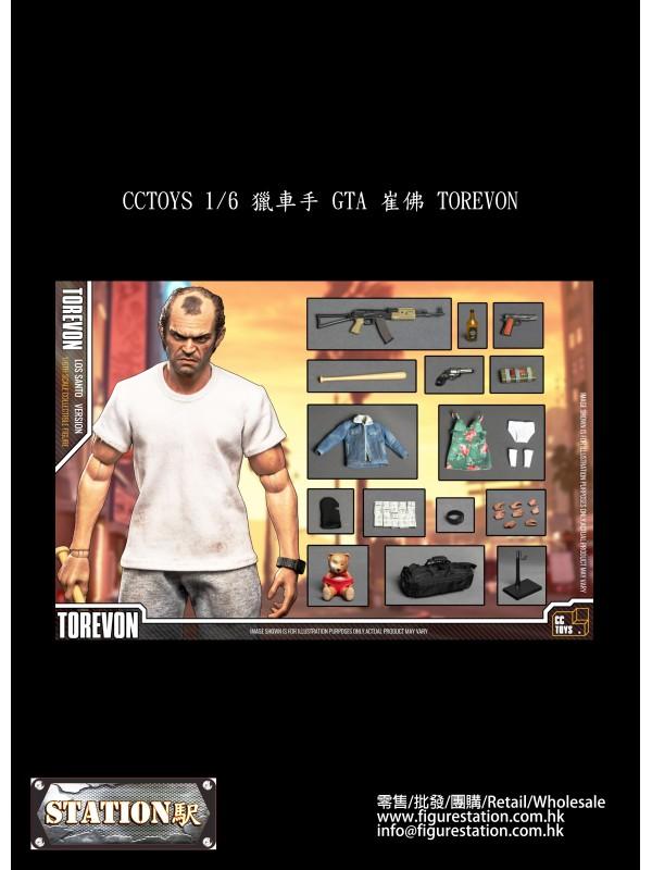 CCTOYS 1/6  GTA  TOREVON (Pre-order HKD$1218 )
