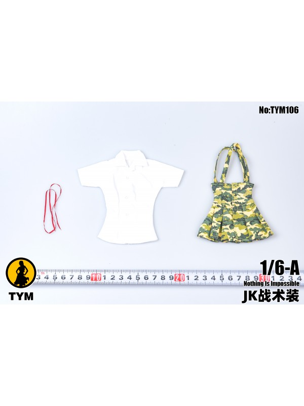 TYM TYM106 1/6 Trendy camouflage skirt suit  (Pre-order HKD$118 )