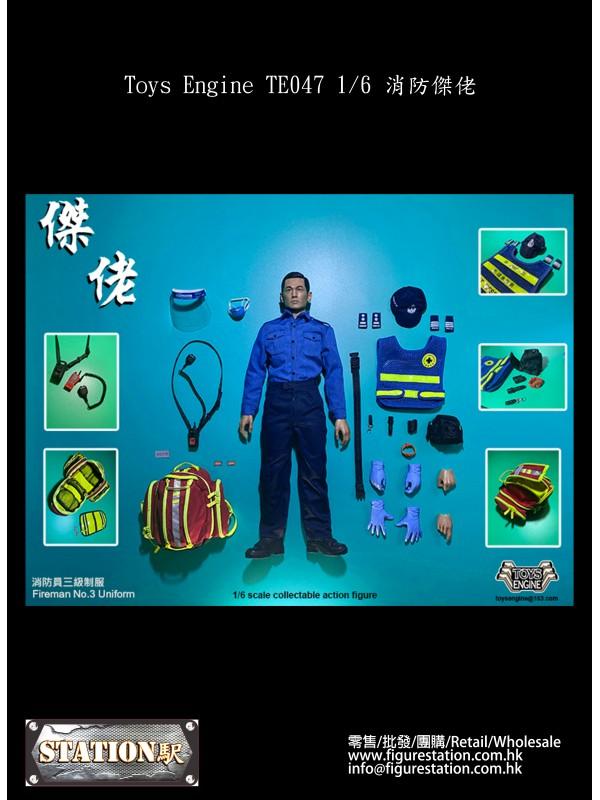(PRE-ORDER) Toys Engine TE047 1/6  Fireman (Pre-order HKD$ 958)