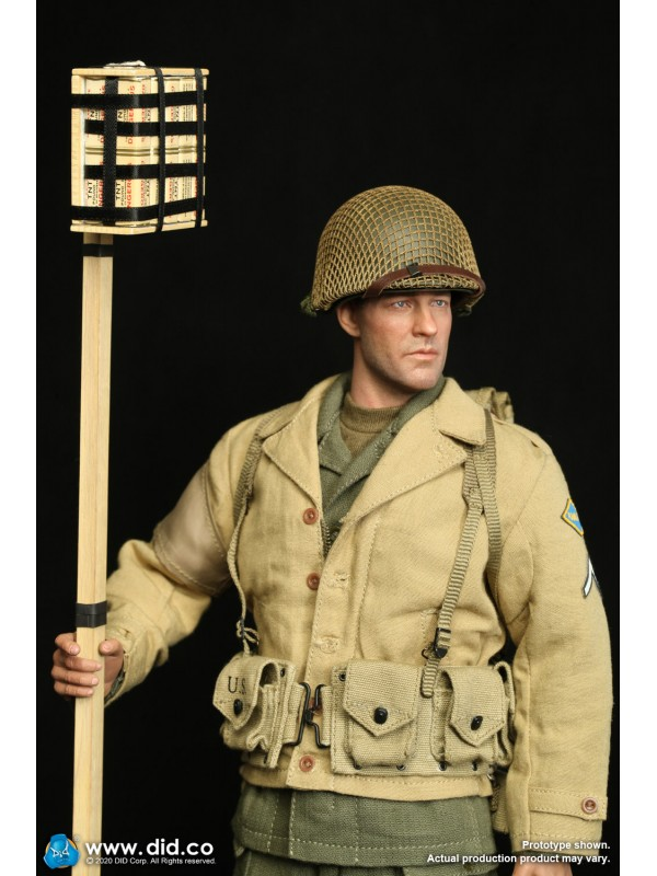 (IN STOCK) DID A80141 1/6 scale WWII US 2nd Ranger BattalionSeries 2 - Private Reiben