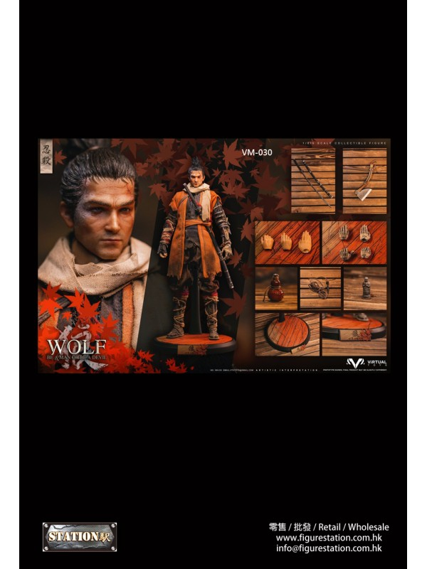 VTS TOYS VM-030 1/6  The wolf of Ashina Normal Edi...