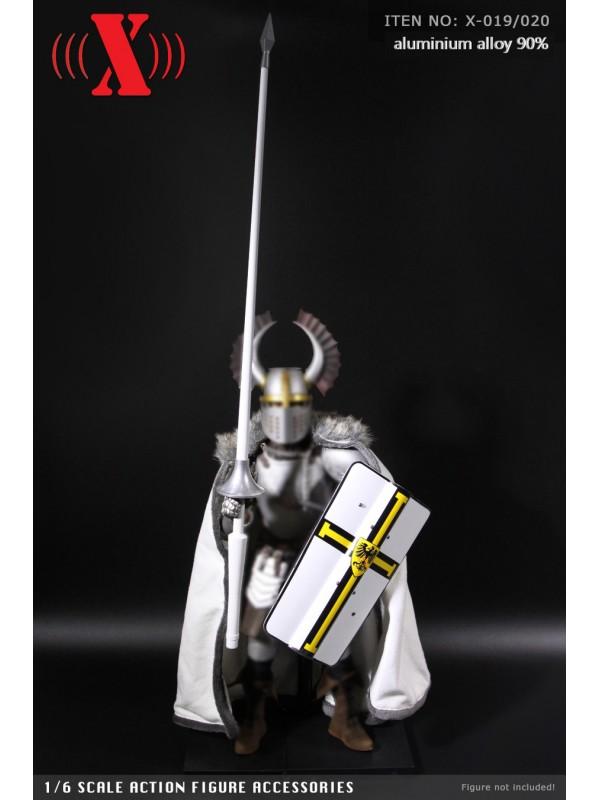 X Toys X-020A 1/6 Aluminum Shield