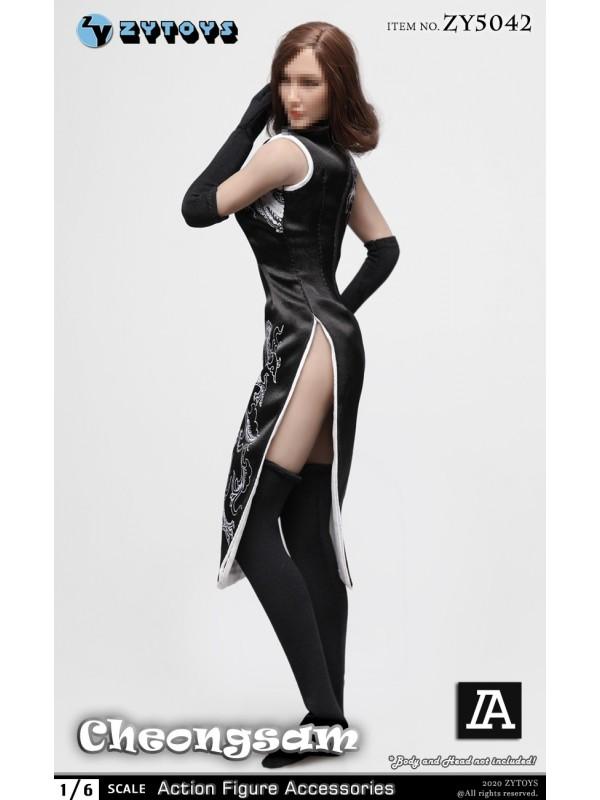 ZYTOYS ZY5042 1/6 Female Dragon Cheongsam Suit