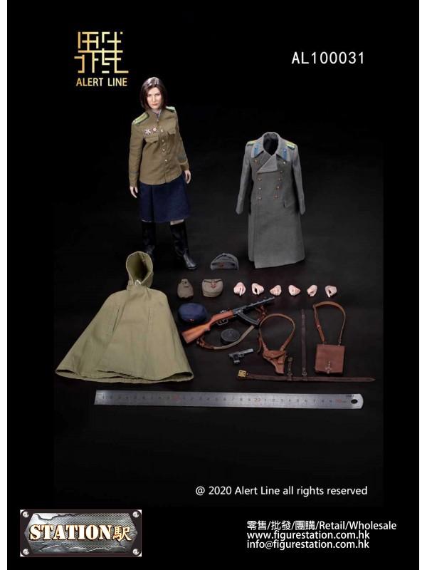 Alert Line AL100031 1/6 WW NKVD Soviet Female Sold...