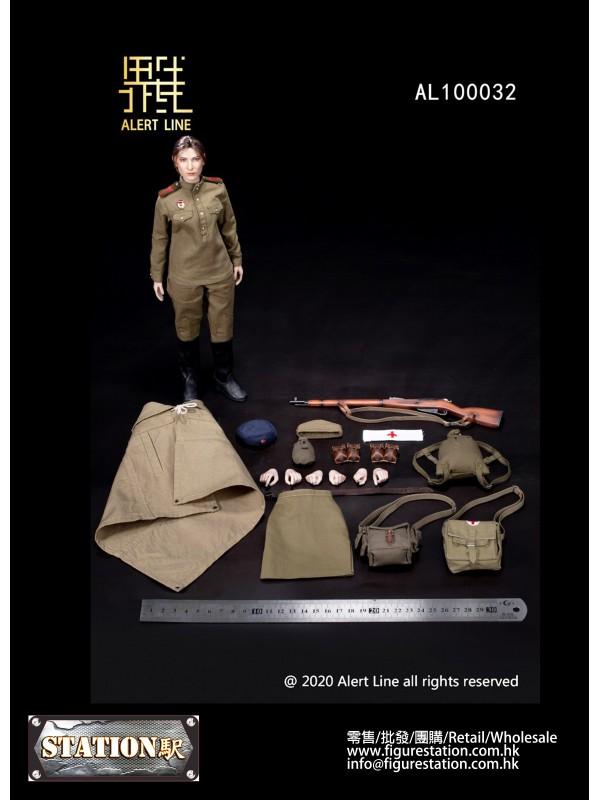 Alert Line AL100032 1/6 WWII Soviet Medical Soldie...
