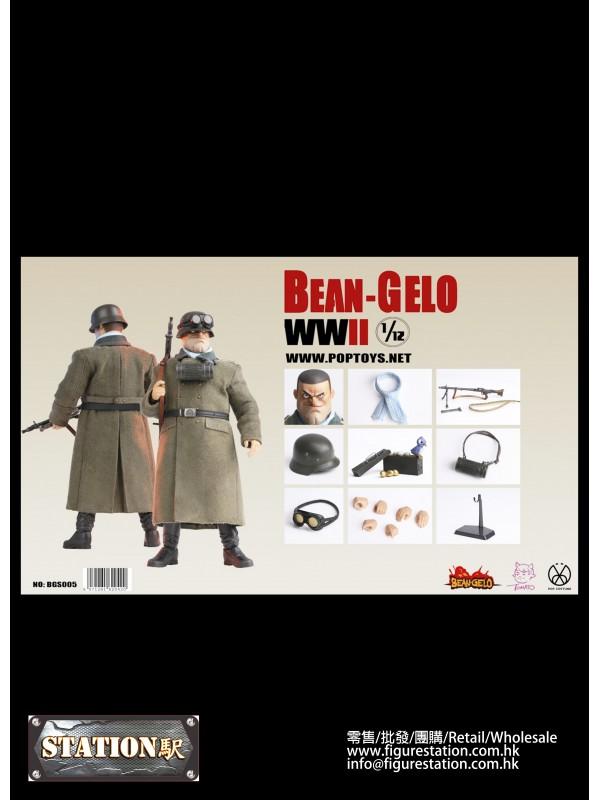 POPTOYS  BGS005 1/12 Bean Gelo Series Kahn