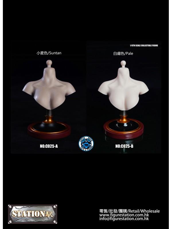 (IN STOCK)SUPER DUCK C025 A / B 1/6 Female bust st...