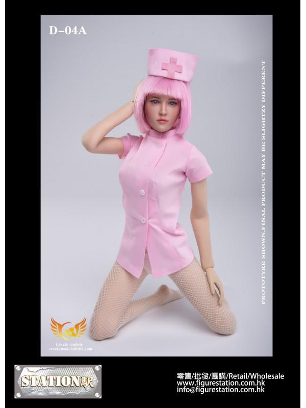 Createmodels D-04A 1/6 sexy maid suit (Nurse)