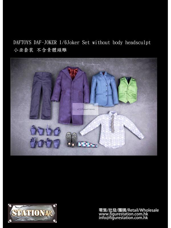 DAFTOYS DAF-JOKER 1/6 Joker Set without body heads...