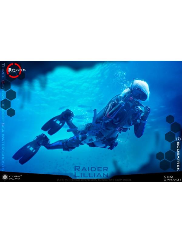 Coreplay CPMA-01 1/6 Three Sisters Of Deep SEA Water Ghosts RAIDER LILLIAN  (Pre-order HKD$1178 )