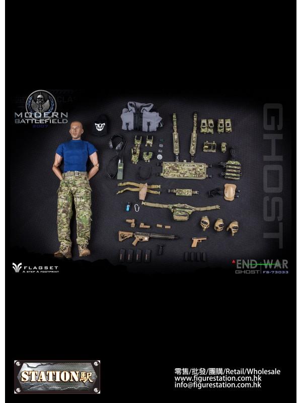FLAGSET FS-73033 1/6 Modern Battlefield END WAR Gh...