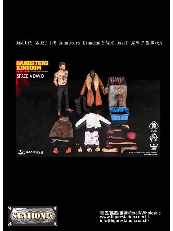 DAMTOYS GK022 1/6 Gangsters Kingdom SPADE DAVID (P...