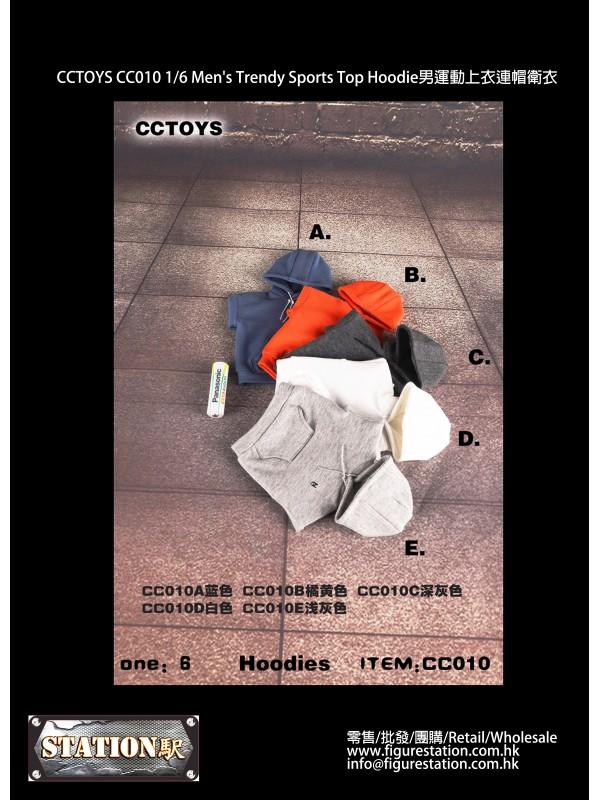 CCTOYS CC010 1/6 Men's Trendy Sports Top Hoodie (P...