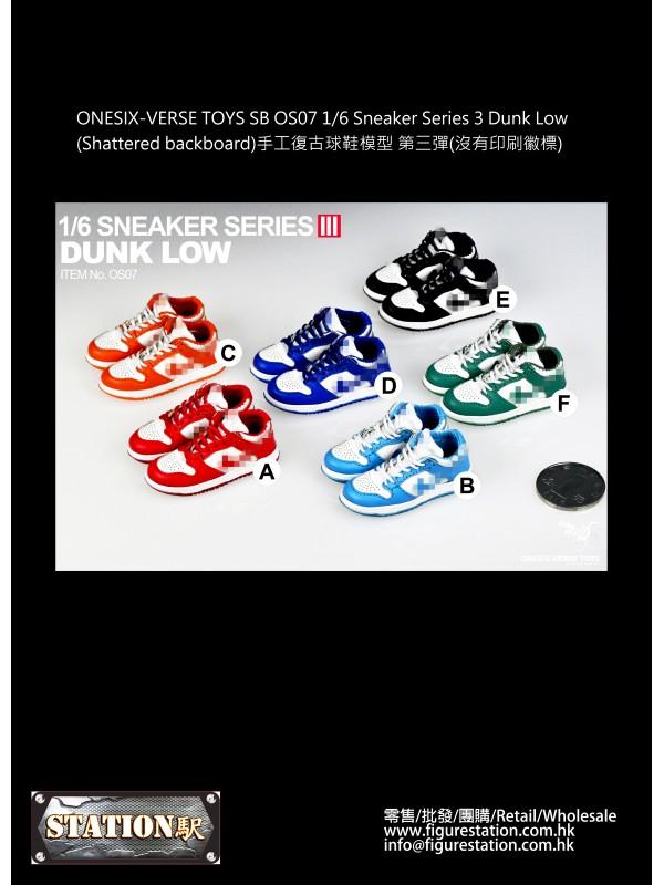 ONESIX-VERSE TOYS SB OS07 1/6 Sneaker Series 3 Dun...