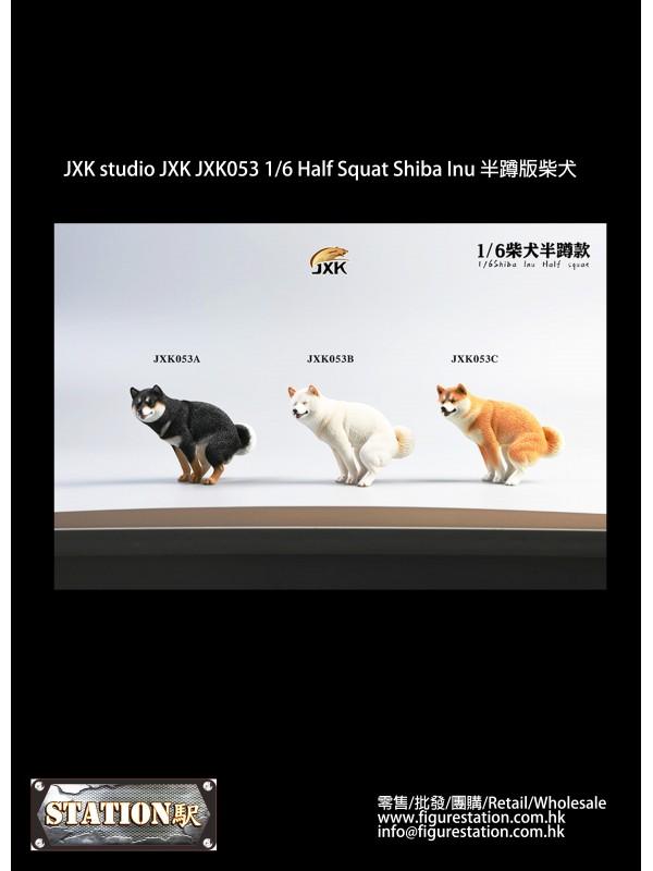 JXK studio JXK JXK053 1/6 Half Squat Shiba Inu (IN...