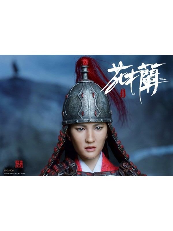 ZOY TOYS ZOY006D 1/6 General Xiaolie-Hua Mulan Deluxe Edition