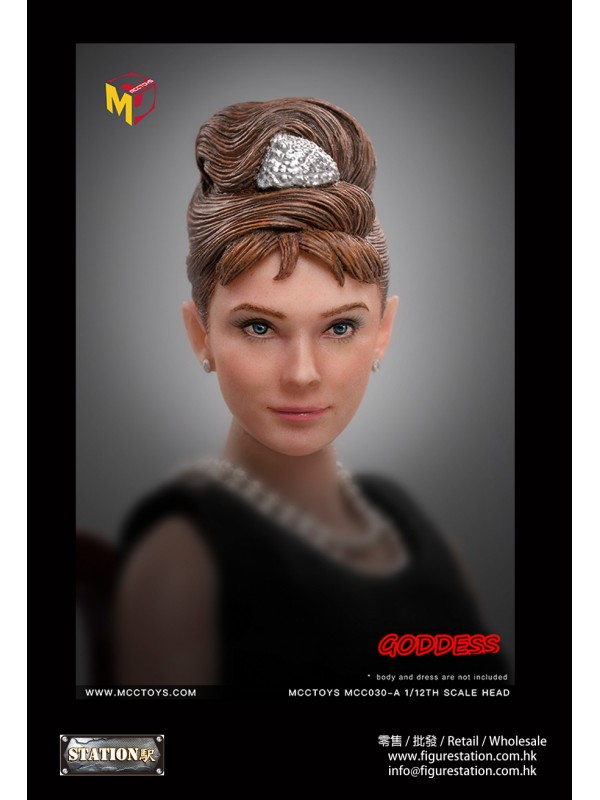 MCCTOYS MCC030A 1/12 GODDESS HEADSCULPT