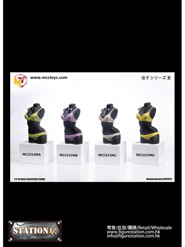 MCCTOYS MCC033M 1/6 Exquisite Underwear Camry Seri...
