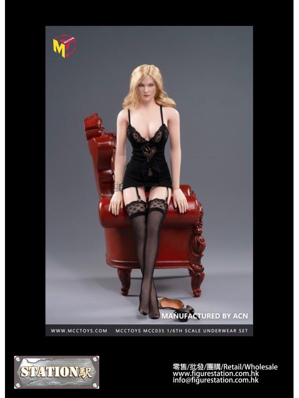 MCCTOYS MCC035 1/6 Black Exquisite underwear Wild ...