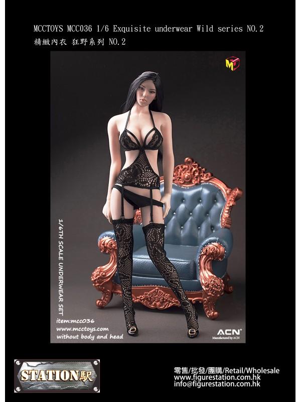 MCCTOYS MCC036 1/6 Exquisite underwear Wild series...