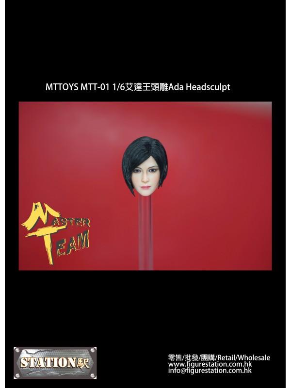 (IN-STOCK)MTTOYS MTT-01 1/6 Ada Headsculpt