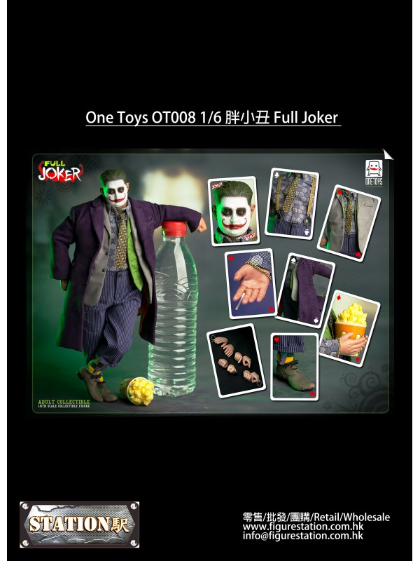 (IN STOCK) One Toys OT008 1/6 Full Joker
