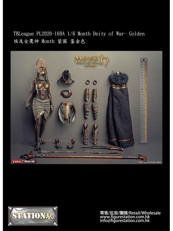 TBLeague PL2020-169A 1/6 Month Deity of War- Golde...